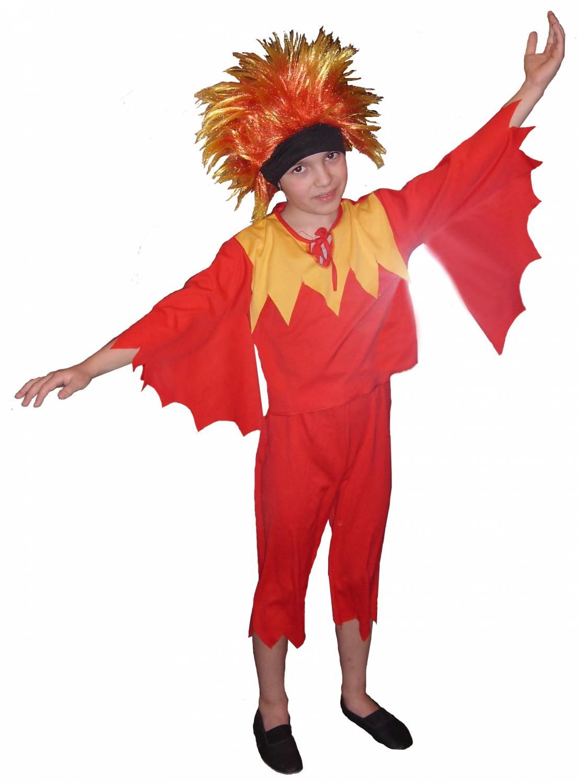 Как сшить костюм огня для девочки 26